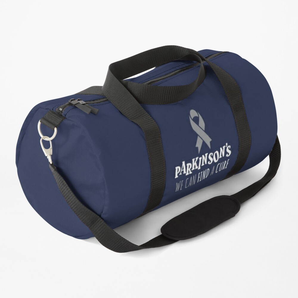 Parkinson's Awareness Ribbon | Find A Cure Support Duffle Bag