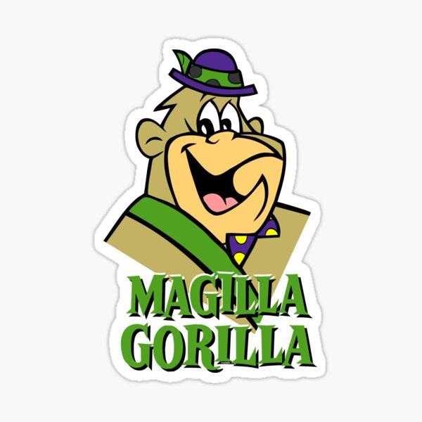 Magilla Gorilla. Shirt, Sticker, Mask, Mug, ... Sticker