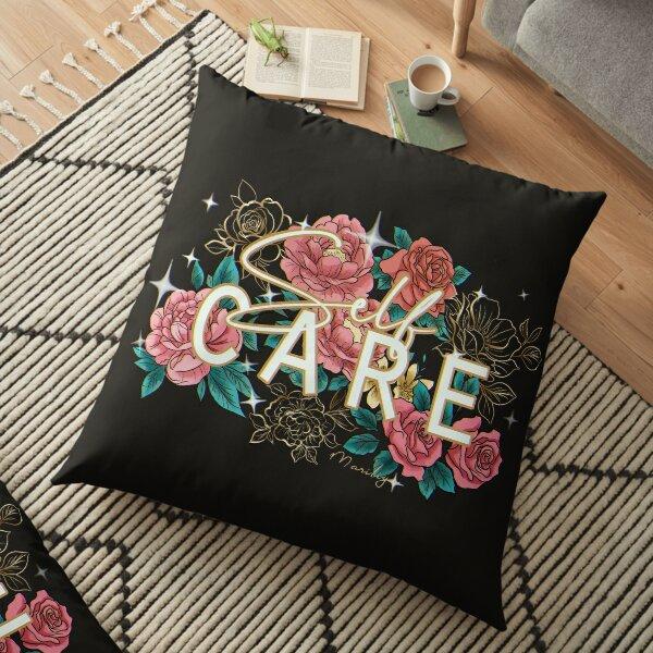 self care - night Floor Pillow