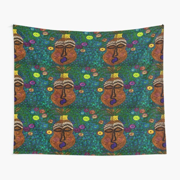 Two African Sisters Tapestry