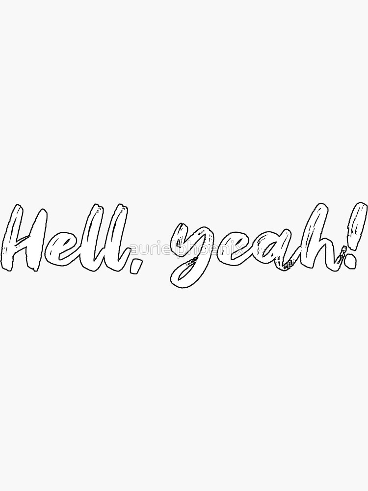 Hell, yeah! - Metal Line by aurielphoenix
