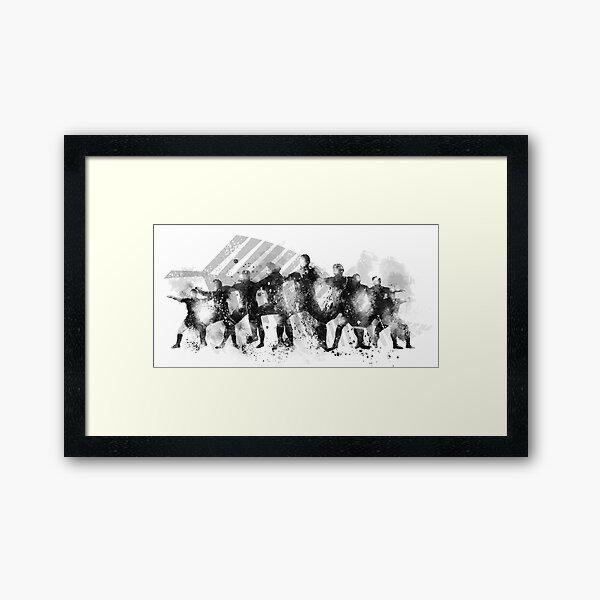 The Haka Framed Art Print