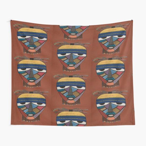 Rasta Man Time Tapestry