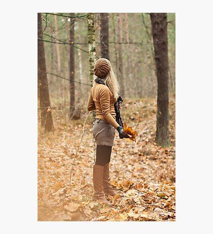 It is autumn Photographic Print