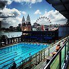 Luna Park/North Sydney Olympic Swimming Pool by Ashley Marie