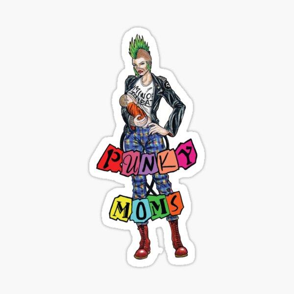 Minerva OG Punky Moms Logo Sticker