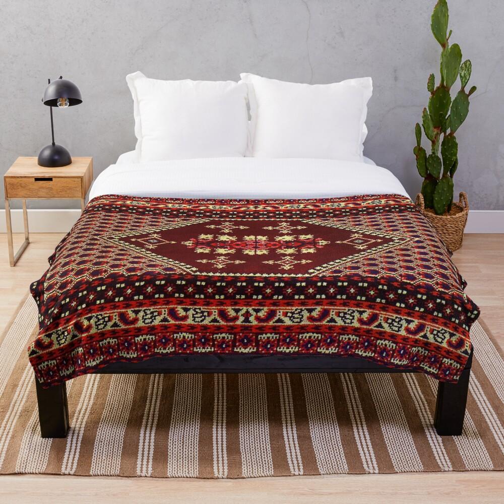 beautiful design of Moroccan style Throw Blanket