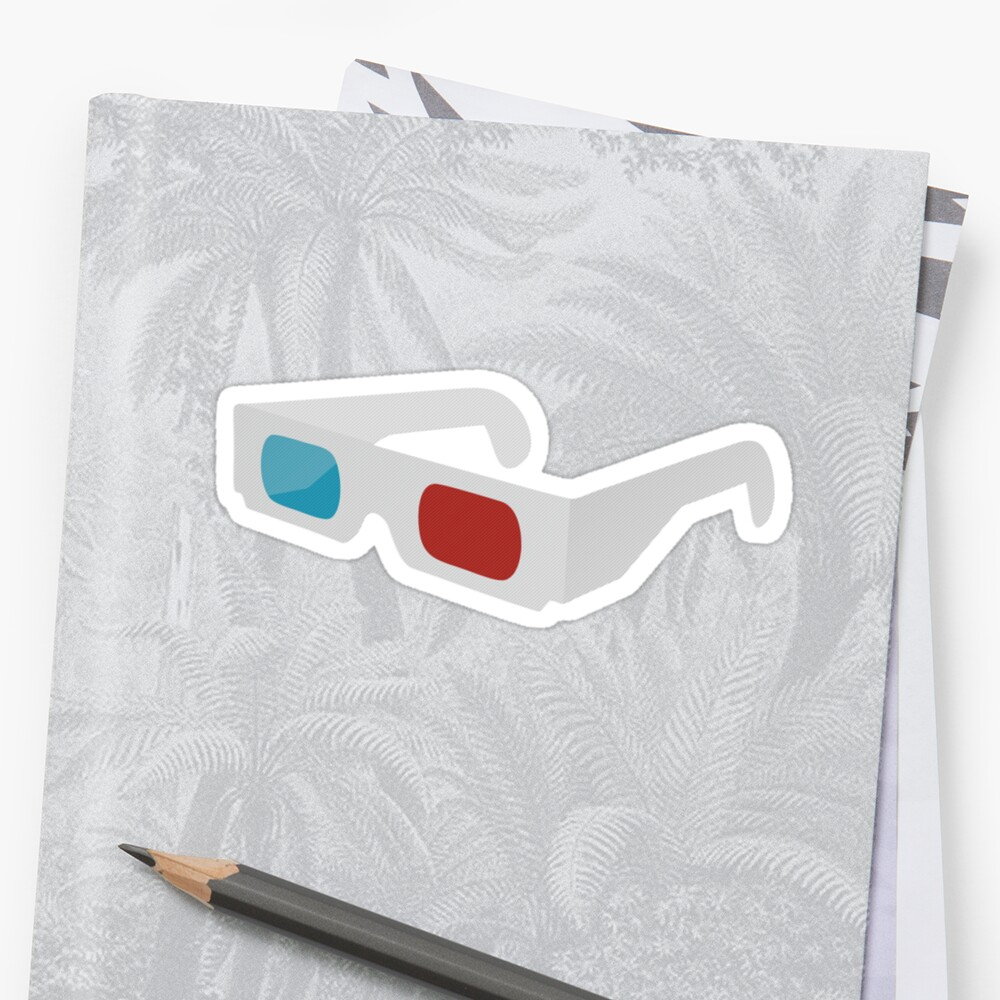 anaglyph stereographic 3D glasses by imfine