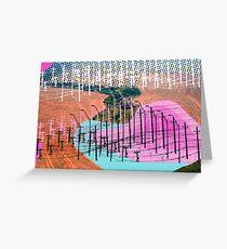 Human Landscape Greeting Card