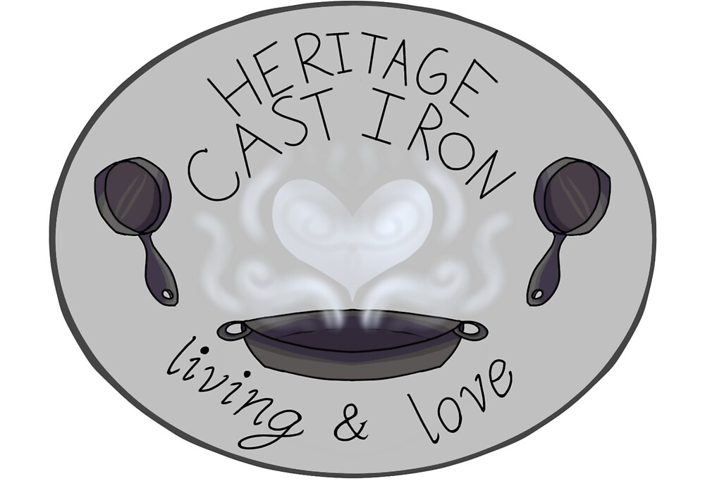 Heritage Cast Iron Living and Love by sleepwhisker