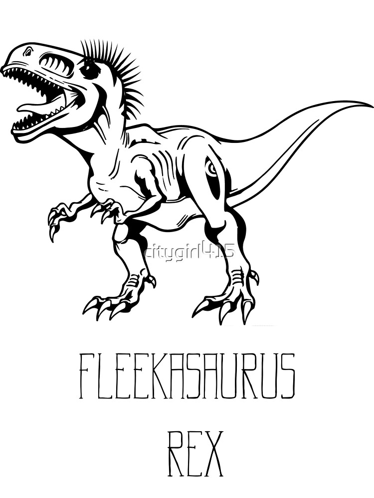 Fleek Dinosaur by citygirl415