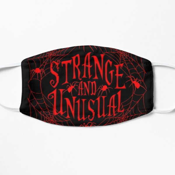 Strange and Unusual Flat Mask