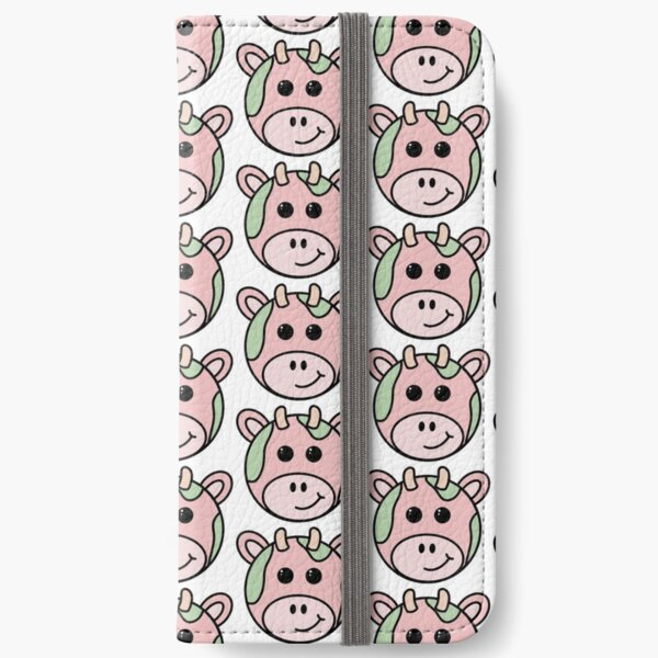 Strawberry Cow iPhone Wallet