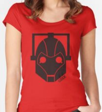 Geek Shirt #1 Cyberman Women's Fitted Scoop T-Shirt