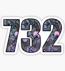 732 Doodle Sticker