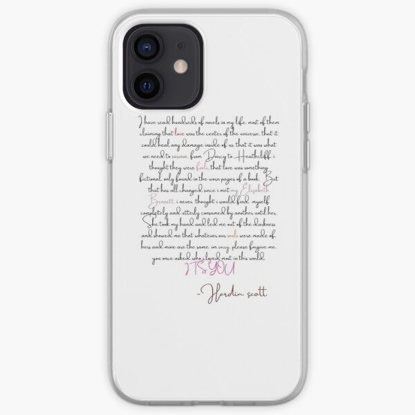 Lettre de Hardin Scott à Tessa Coque souple iPhone