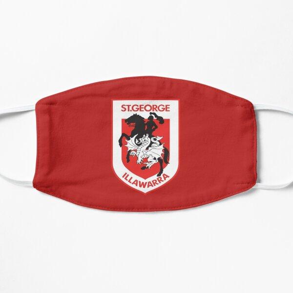 NRL St. George Illawarra Dragons Flat Mask