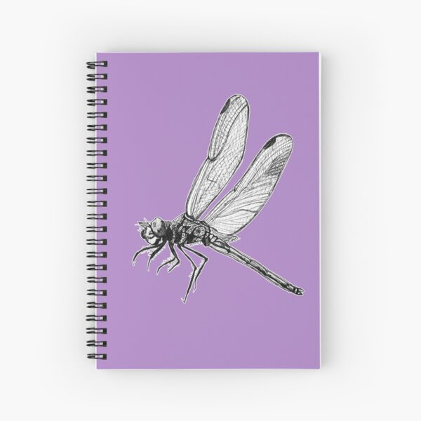Hope the Dragonfly  Spiral Notebook