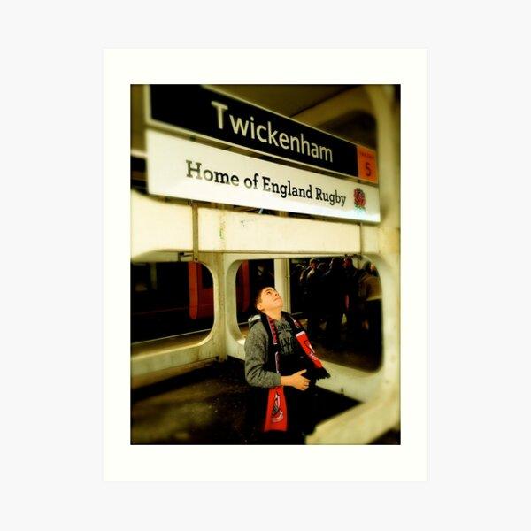 Twickenham - Home of England Rugby Art Print