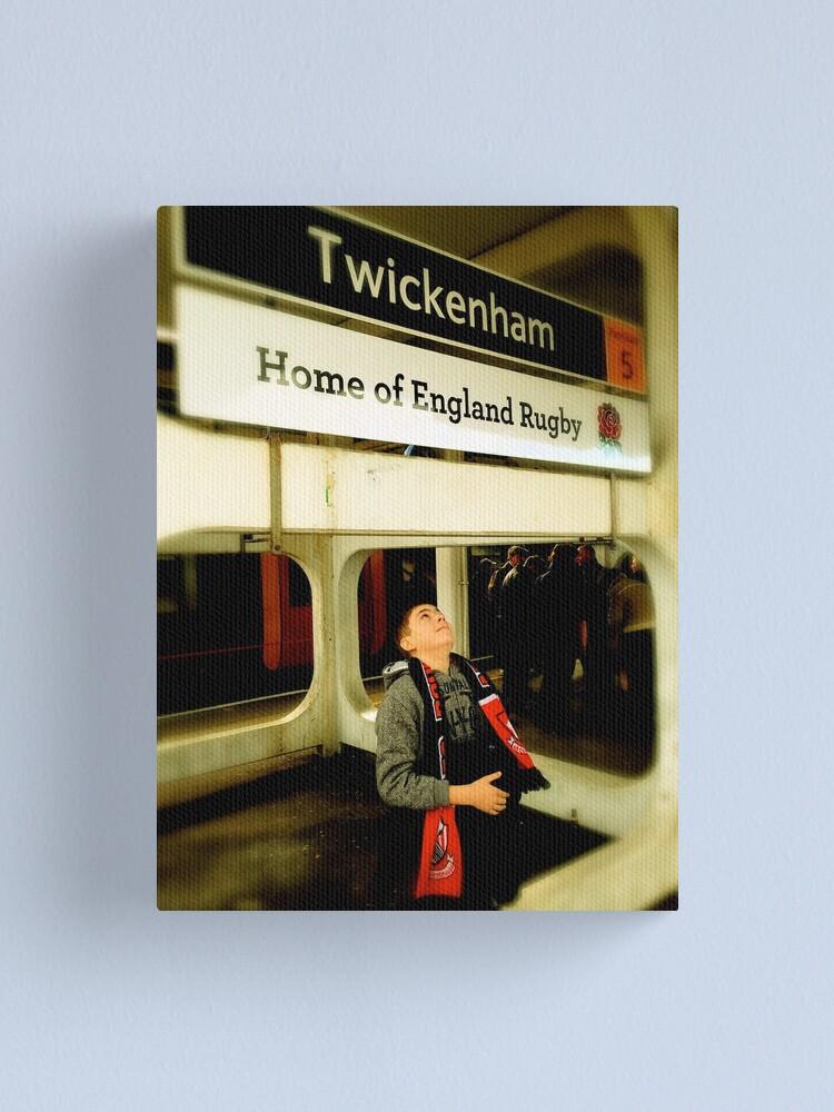 Alternate view of Twickenham - Home of England Rugby Canvas Print