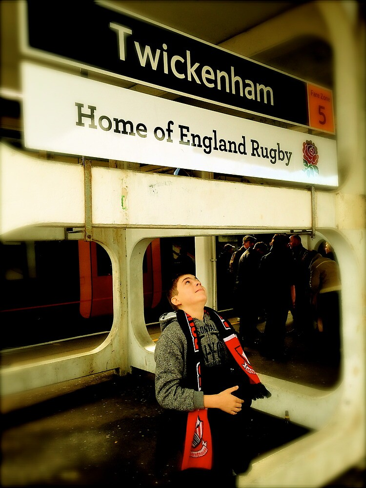 Twickenham - Home of England Rugby by robsteadman