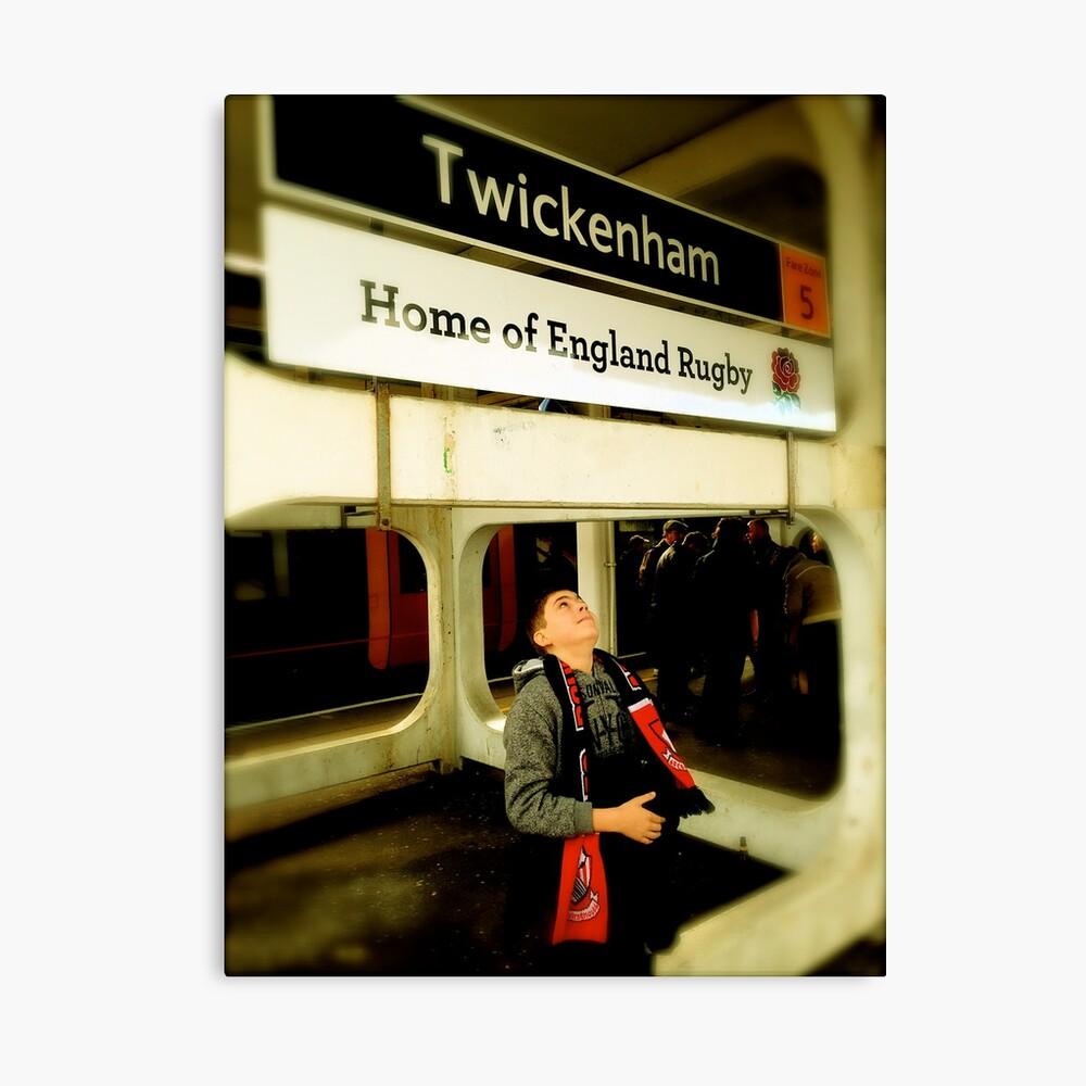 Twickenham - Home of England Rugby Canvas Print