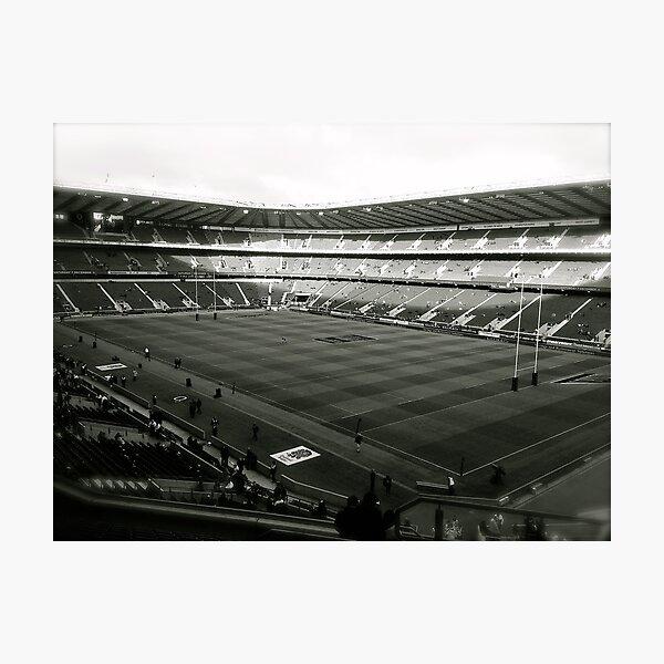 Twickenham. Black and White. Photographic Print