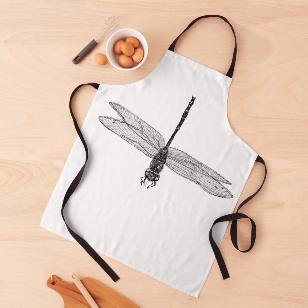 Marie the Dragonfly  Apron