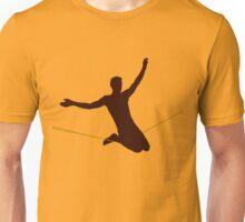 Double drop knee Unisex T-Shirt
