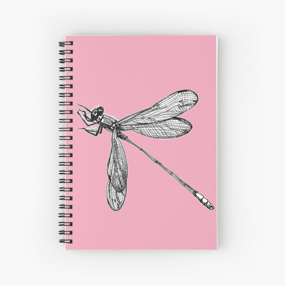 Lynette the Dragonfly  Spiral Notebook