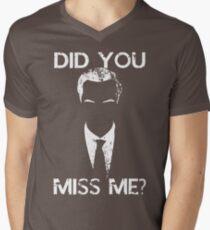 Did you miss me? Men's V-Neck T-Shirt