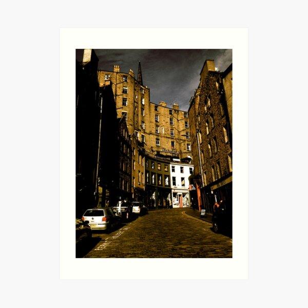 West Bow, Edinburgh Art Print