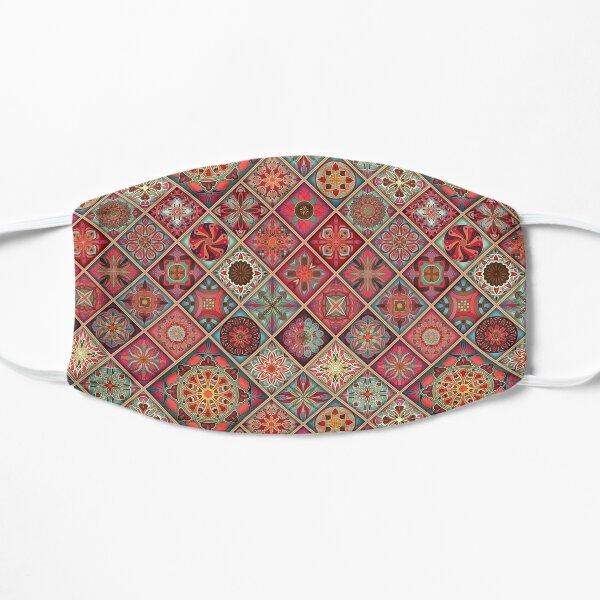 Moroccan Mandalas Pattern Flat Mask