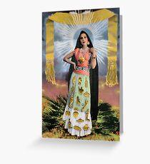 Señora de los Milagros / Lady of Miracles Greeting Card
