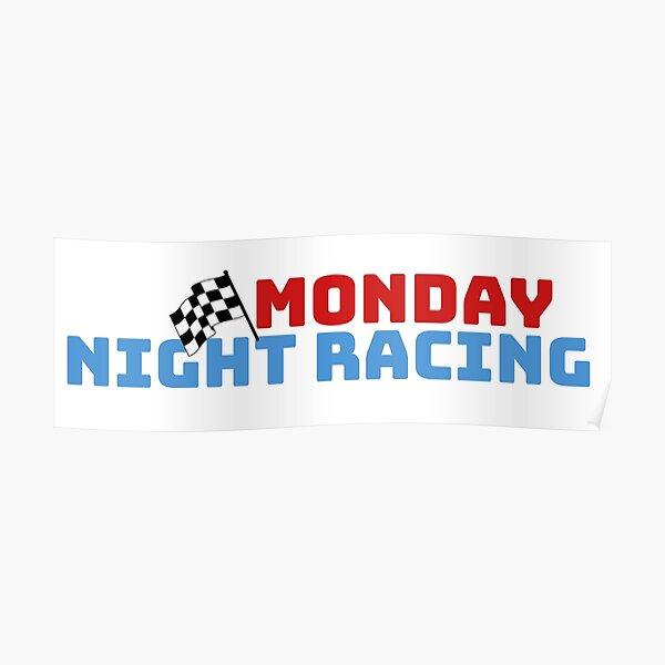 Monday Night Racing Logo Poster