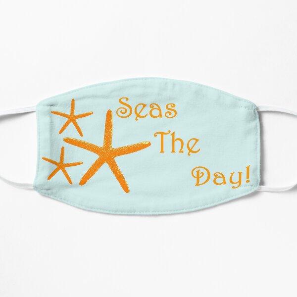 Starfish, Seas The Day!  Flat Mask