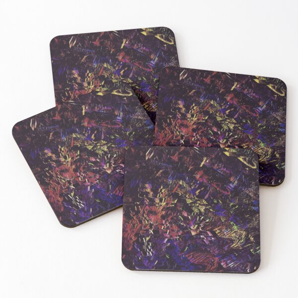 Error 404 - File not found Coasters (Set of 4)