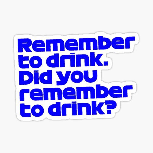 Max Verstappen Drink Sticker