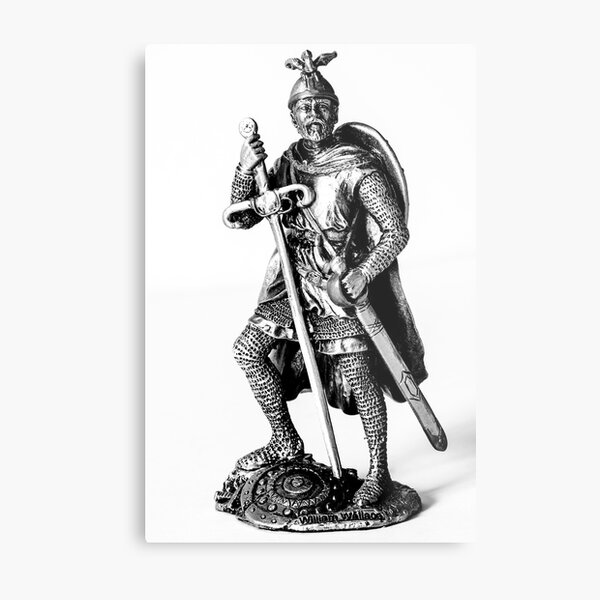 William Wallace Statue Metal Print