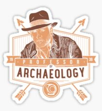 Professor of Archaeology Sticker