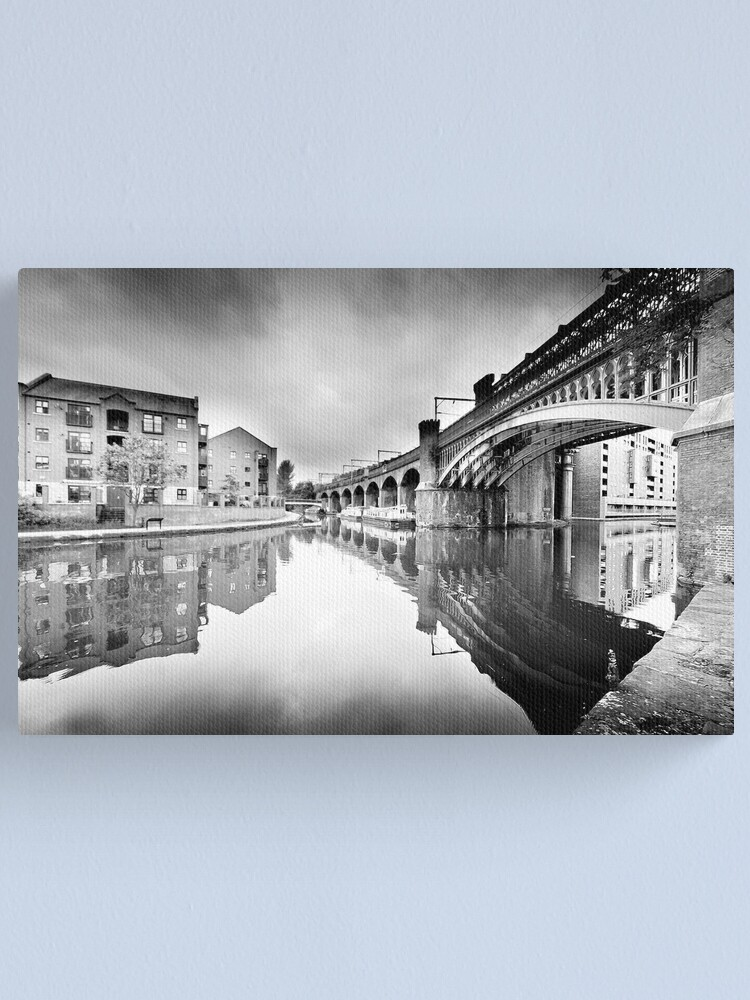 Alternate view of Castlefield, Manchester Canvas Print