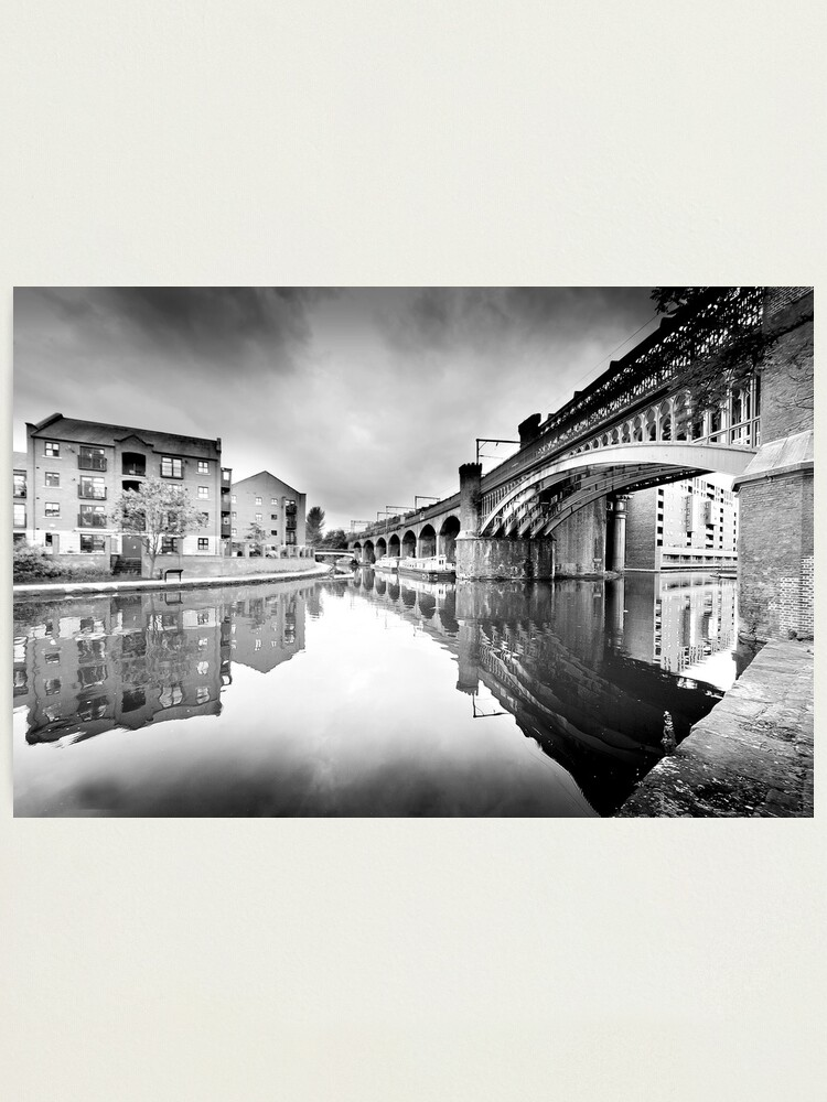 Alternate view of Castlefield, Manchester Photographic Print