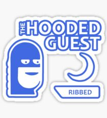 The Hooded Guest Sticker