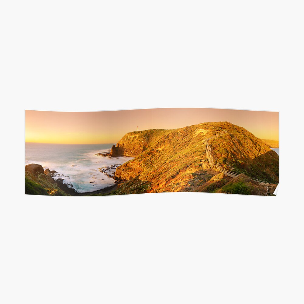 Cape Schank Lighthouse, Mornington Peninsula, Victoria, Australia Poster
