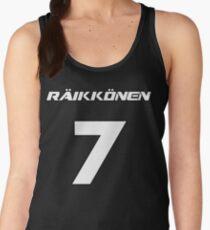 Raikkonen 7 Women's Tank Top