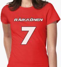 Raikkonen 7 Women's Fitted T-Shirt