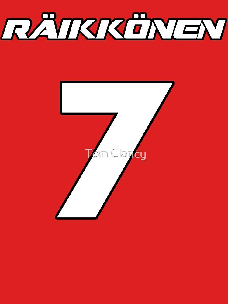 Raikkonen 7 | Unisex T-Shirt
