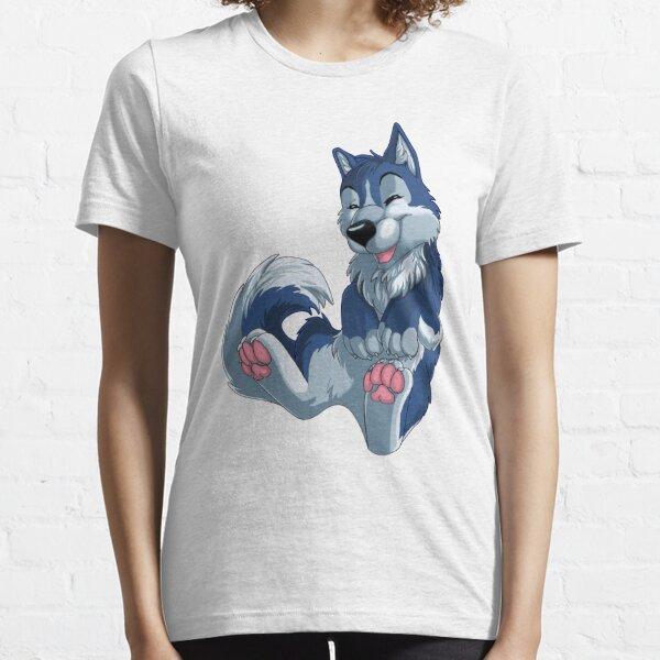 Happy blue husky Essential T-Shirt