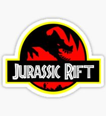 Welcome to the Jurassic Rift Sticker