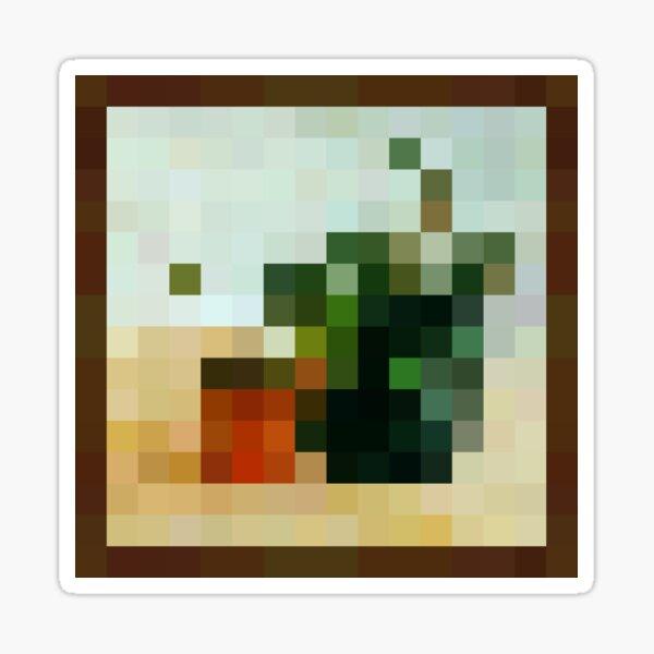 Plant - Minecraft Painting Sticker